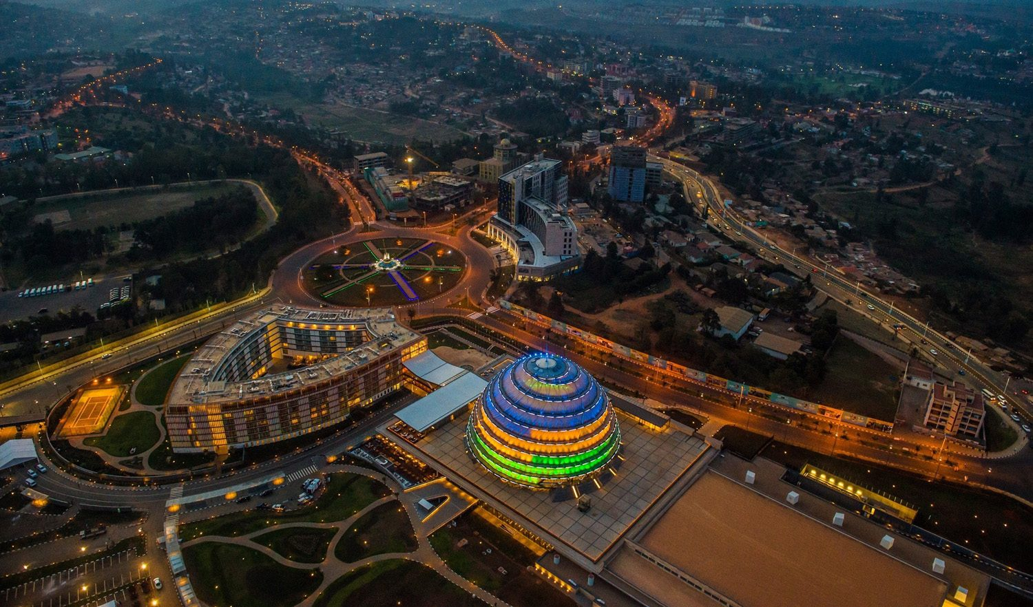 Kigali City-Land of A thousand Hills