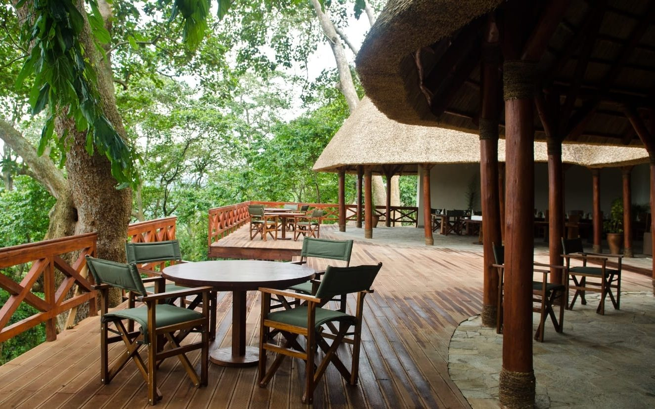 Mikeno Lodge; Virunga National Park