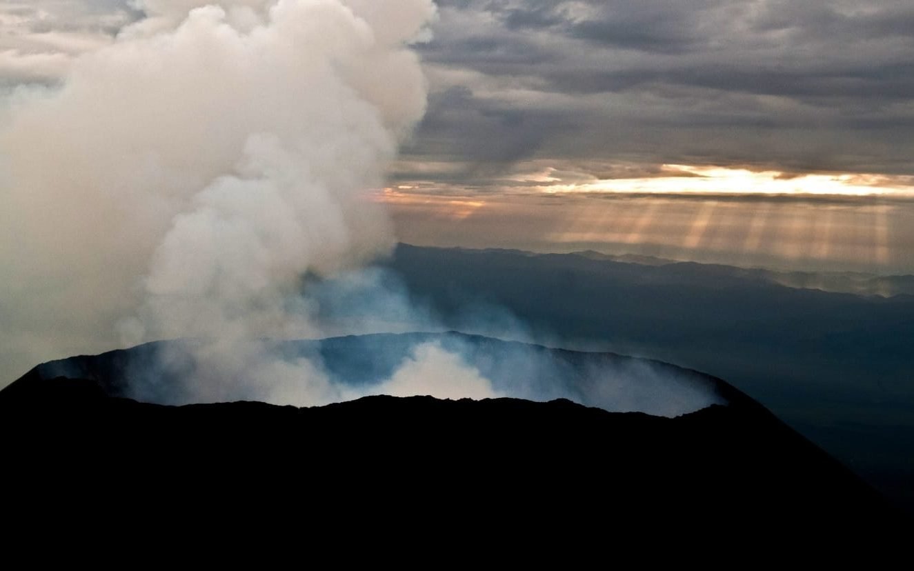 Mount Nyiragongo; Virunga National Park