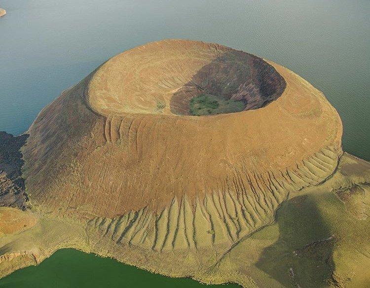 A Volcanic Cone in Kenya. Kenya Tours