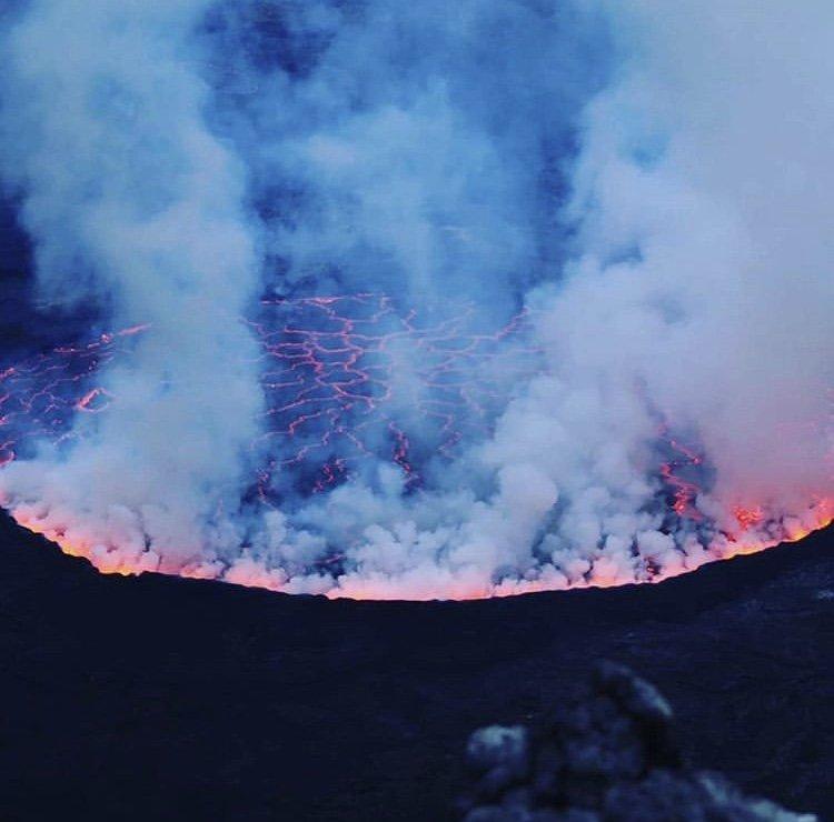 Nyiragongo Volcano Democratic Republic of Congo
