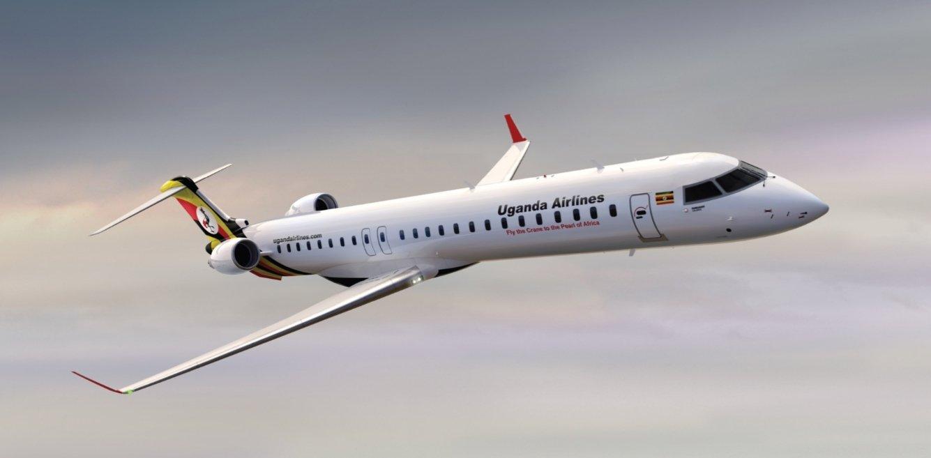 Uganda Airlines; Entebbe International Airport