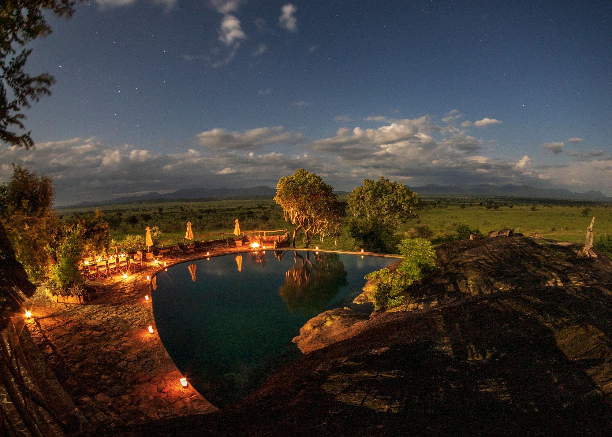 Apoka Safari Lodge Kidepo. Uganda