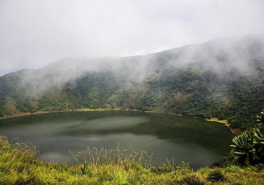 Mount Bisoke Crater Volcanoes National Park Rwanda