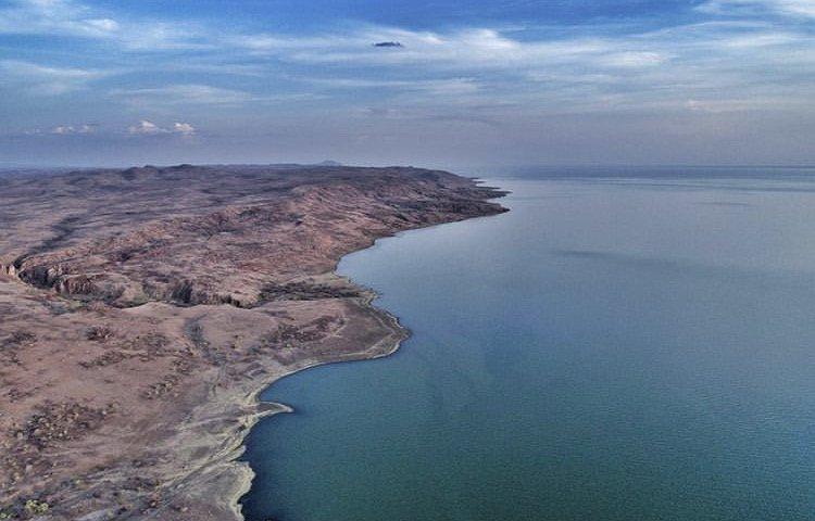 Lake Turkana Shoreline in Sibiloi National Park. World Heritage Sites