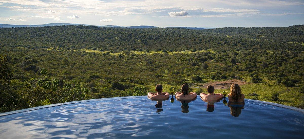 Mihingo Lodge Pool. Uganda Safari