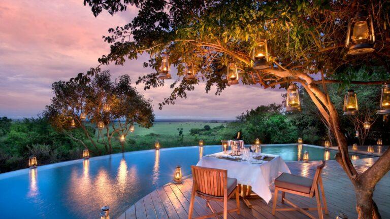 andbeyond-bateleur-camp Swimming pool. Kenya Safari Adventures