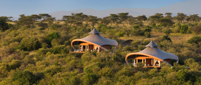 Mahali Mzuri Camp. Kenya Safari Camps